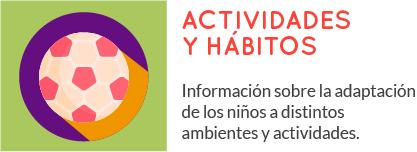 Actividades y Hábitos